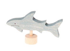 Grimms Birthday and Advent Ring Decoration Shark