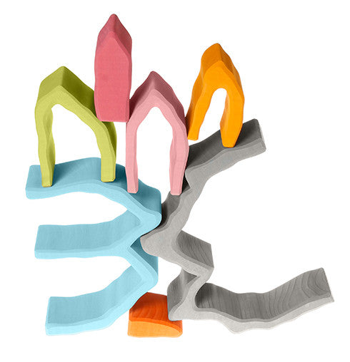 Cave arch nesting puzzle dragonfly toys for Arch decoration crossword clue