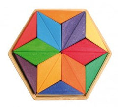 Grimm's Complementary Colour Star Puzzle