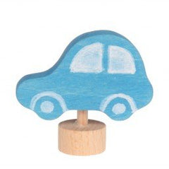 Grimms Birthday and Advent Ring Decoration -Blue Car