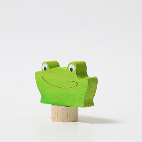 Grimms Birthday and Advent Ring Decoration - Frog 2