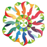 Grimms Large Circle Flower Puzzle