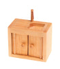 Grimms Wooden Dolls House SinkNatural