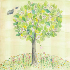 Greeting Card - Spring Tree