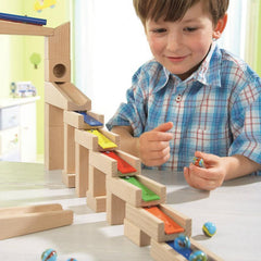 Melodious Building Blocks Ball Track Marble Run by Haba