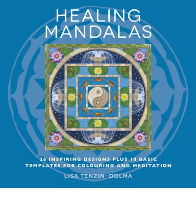 Healing Mandalas Colouring book