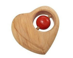 Gluckskafer Heart Rattle