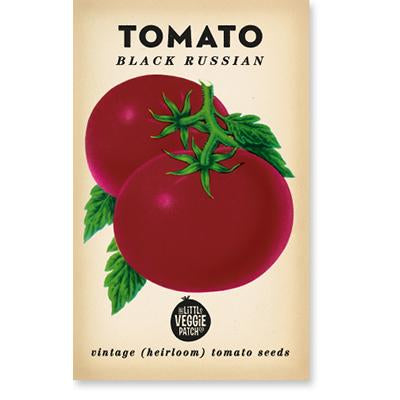 Heirloom Vegetable Seed Black Russian Tomato