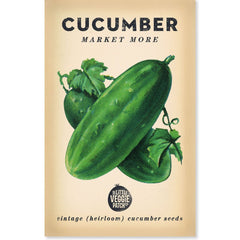 Heirloom Vegetable Seeds Cucumber Market