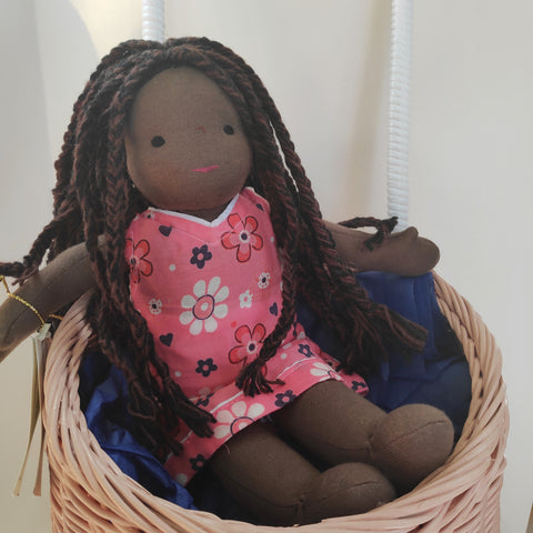 Small Steiner Doll- Afro Girl