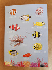 Greeting Card - Australia fish