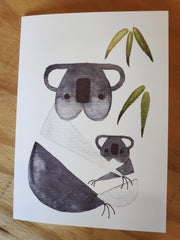 Greeting Card - Koala and baby  TANIA 59