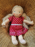 Small Steiner Doll- Girl Blond Hair