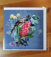 Greeting Card - Daniela Glassop bird - GAL 1