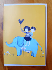Greeting Card - Joanna Emily - JE 7