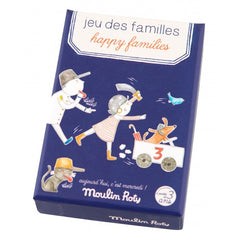 Happy Families Card Game by Moulin Roty