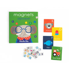 Moulin Roty Magnetic Game - Alphabet Popipop Set