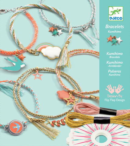 Celeste Jewellery Bracelet Making Kit (Kumihimo Japanese Style) by Djeco