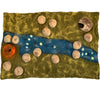 Felt jurassic playmat by Papoose