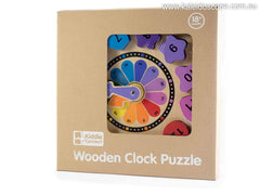 Tell The Time Clock Shape Puzzle by Kiddie Connect