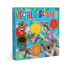 Koala Bounce Board Game, dragonfly toys, eeboo