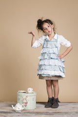 Blue Dolly Kids Apron, Dragonflytoys