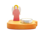 Kinderkram Angel Candle Holder Red