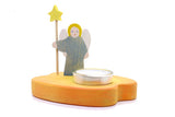 Kinderkram Angel Candle Holder Blue (5530281)