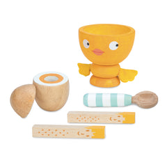 Egg cup set by Le Toy Van, Dragonflytoys