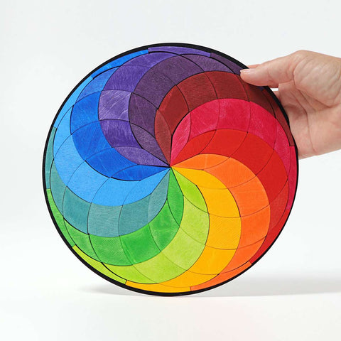 Grimms Large Magnetic Colour Spiral Puzzle (72 Pieces)
