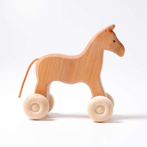 Grimms Large Roll Along Horse Willy