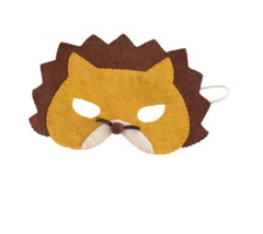 Wool Felt Lion Mask