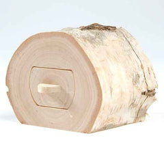 Wooden birch treasure box