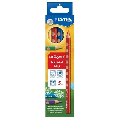 Lyra Groove Pencil 5 Pack