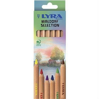 Super Ferby Pencils - Waldorf Mix 6 Pencils