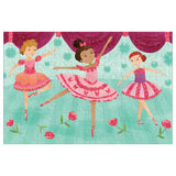 Glitter Ballerina Puzzle (100 Pieces) by Mudpuppy,Dragonflytoys