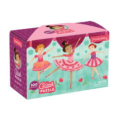 Glitter Ballerina Puzzle (100 Pieces) by Mudpuppy, Dragonflytoys