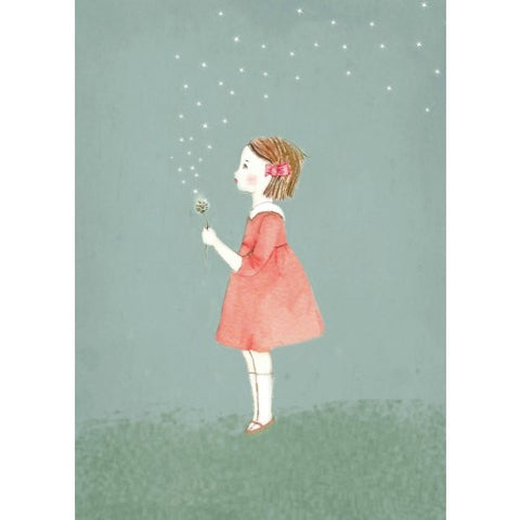 Greeting Card - Girl