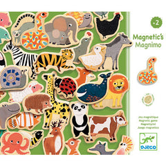 Djeco Wooden Magnetic Animals