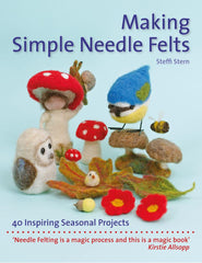 Making Simple Needle Felts