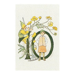 Mini Floral Card Ottilia Adelbord Number 3