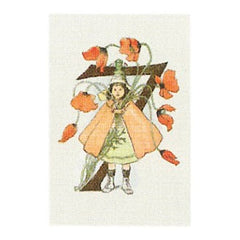 Mini Floral Card Ottilia Adelbord Number 7