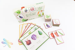 Vegetable Lotto and Memory Game by Moulin Roty, Dragonflytoys