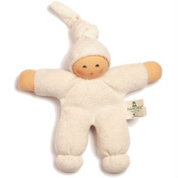 Nanchen Organic Squeze Doll Natural 20cm