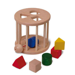 Shape Sorter Rolling Wheel