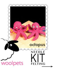 Needle Felted Kit- Octopus