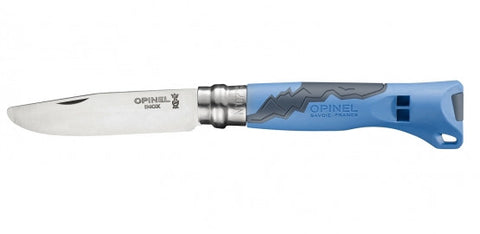 Opinel Forest Activity Junior Knife, Blue Dragonflytoys