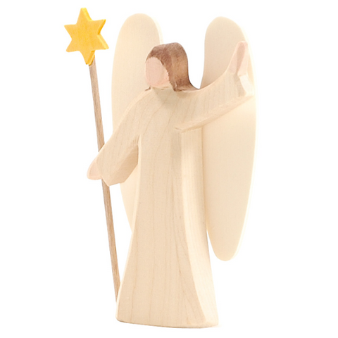 Mini Wooden Angel with Star (66500) - Ostheimer