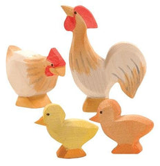 Ochre Chicken Family - Ostheimer