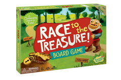 Board Game - Race to the Treasure, Dragonflytoys